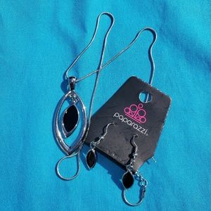 Paparazzi Lead & Nickel Free Earring Necklace Set